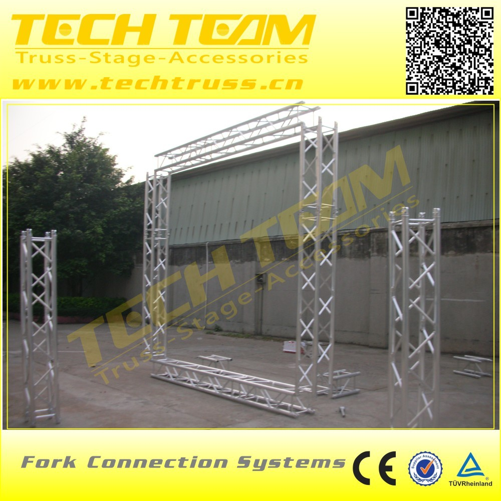 MD76-R High quality spigot aluminum truss for lighting , used Concert aluminum truss