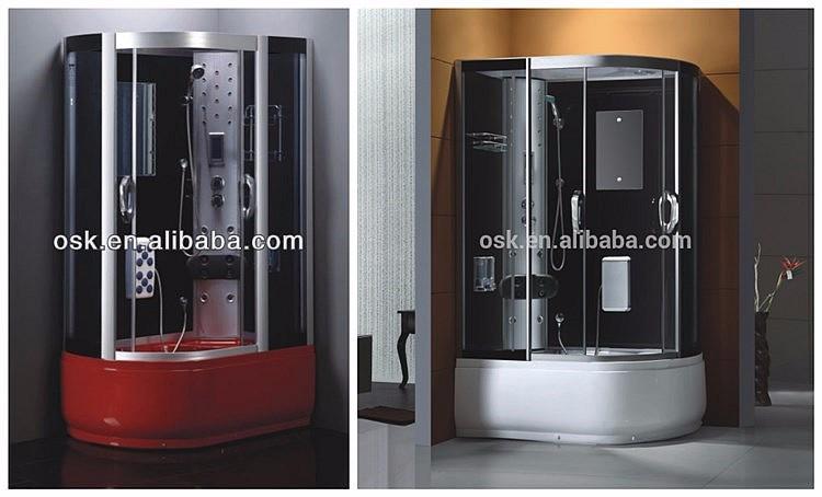 Hangzhou funzionale bagni prefabbricata portatile del vapore cabina
