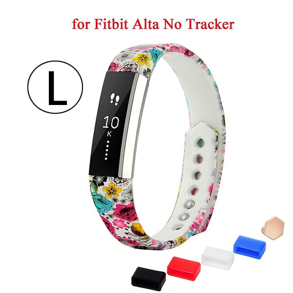 TPE + TPU Classic Bracelet Strap for Fitbit Alta, Replacement Band for Fitbit Alta