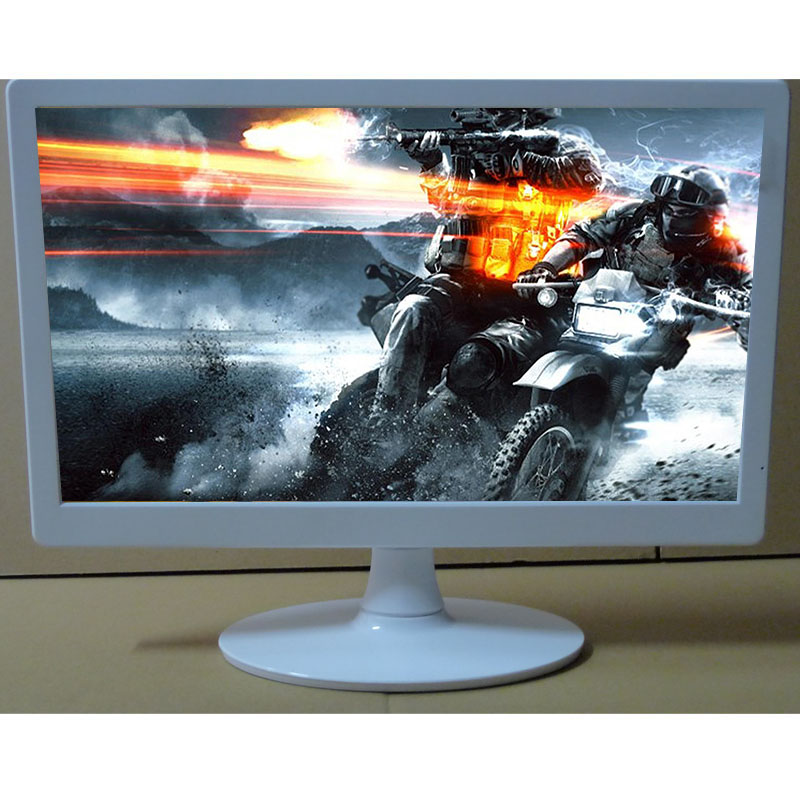VGA and DVI port 18.5 inch medical monitor monochrome LED backlight display