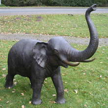 Customized Available Wild Elephant Animal Sculpture