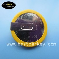 Discount price car key remote control cr2025 battery 3.6 V cr2025 rechargeable battery