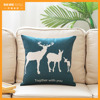 2016 New design digital printed animal pillow patterns home hotel decor washable cushion covers