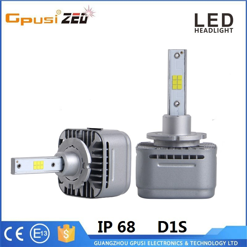 Auto Spare Parts D1S D1R Car LED Light Headlight Head Lights Conversion 80W 6000K 10000LM
