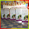 Adjustable x style banner stand/product display