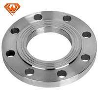 HEBEI china ASME 304 stainless steel plate flange pipe fitting pipe fittings flanges