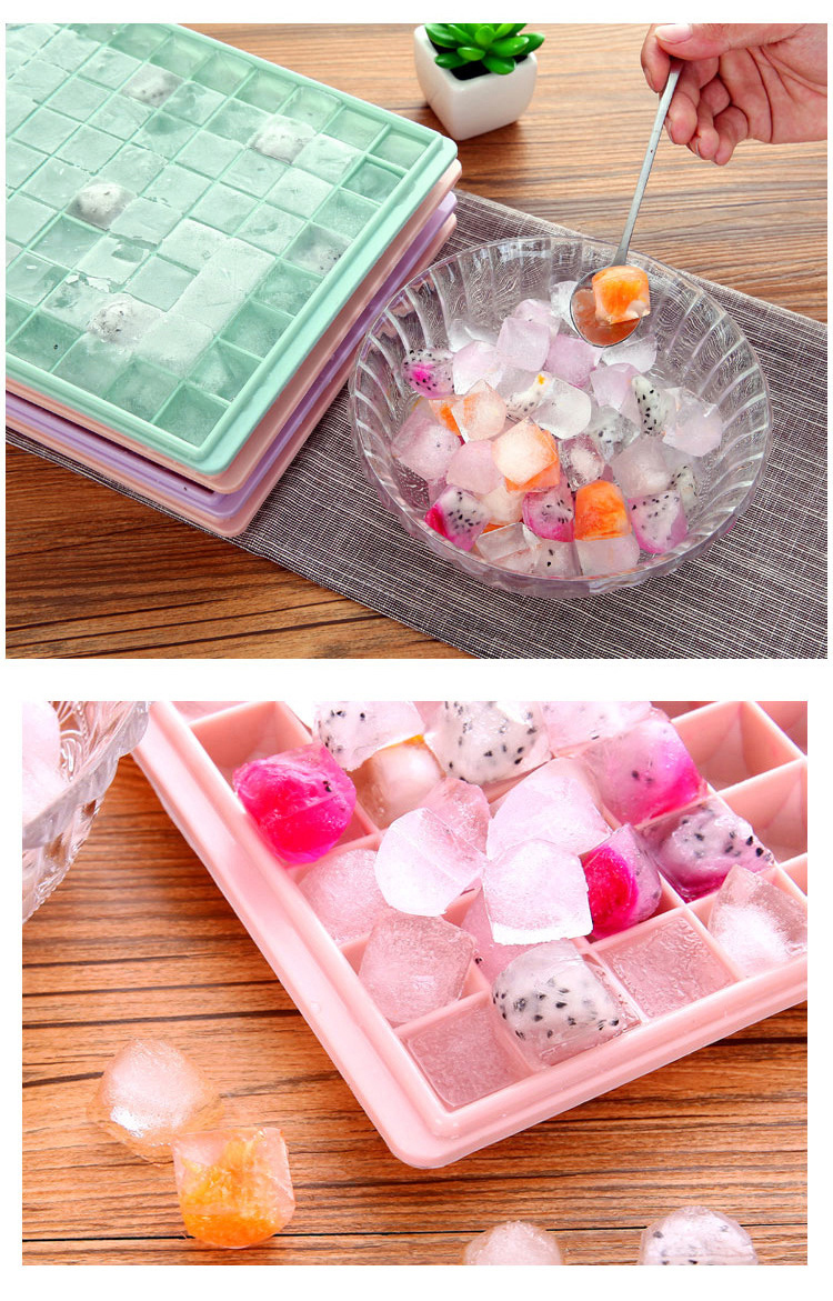 Easy To Clean Pp Plastic Personalized Ice Cube Tray Mini Tiny 96 Grids Ice Cube Bin Scoop Trays And Candy Grids Small Ice Maker Buy Wholesale Plastic 96 Cavity Chess Ice
