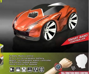 2018 Newest Christmas Toys 2.4G Smart Electric Watch Voice Control Rc Racing Car For Kids