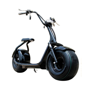2019 popular big wheels Harlley style electric scooter, fashion city scooter citycoco