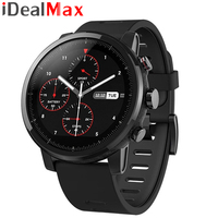 "English Version Xiaomi Huami Amazfit Stratos Pace 2 Smart Sports Watch 5ATM Waterproof GPS 1.34"" 2.5D Screen GPS"