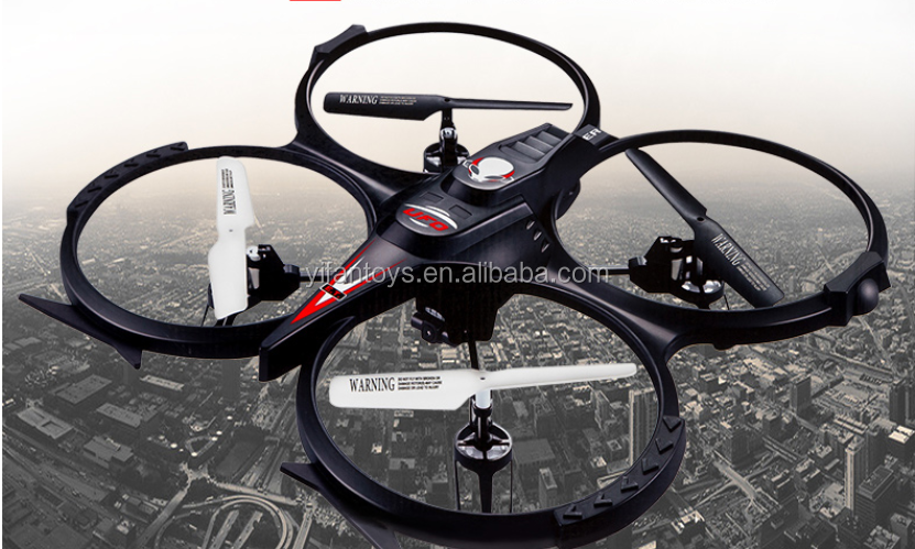 Newest Professional Camera Drone Kit F182C 2 IN 1 2.4Ghz 4CH 6 Axis Gyro RC UFO Quadcopter with LCD Screen