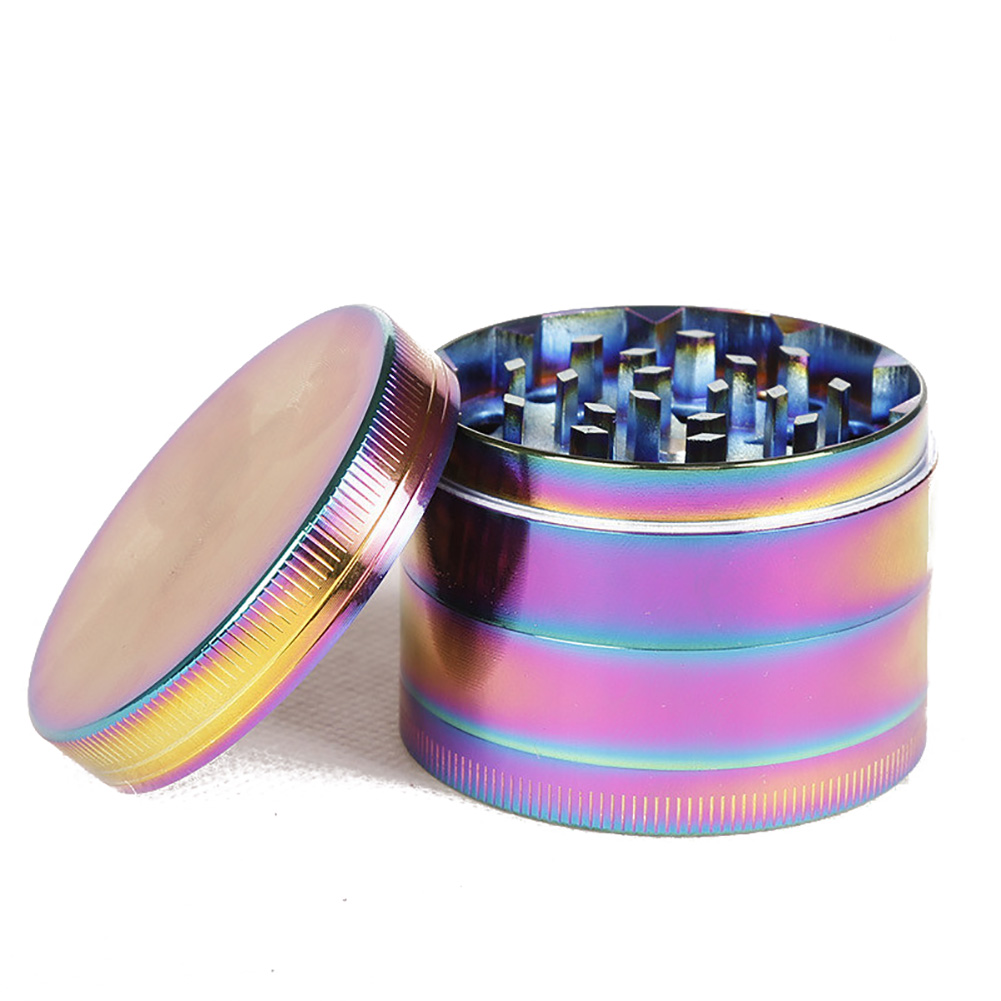 Lanchuang Manufacturers Rainbow Spoon Type Smoking Accessories Wholesale Sales Metal Pipe Tobacco Cigarette Filter Smoking Pipes
