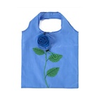Reusable nylon folding carry tote bags