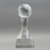Wholesale Blank Custom Crystal Globe Trophy