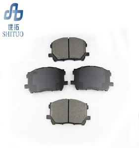 Auto Car Less-metallic and Semi-metallic Disc Brake Pad fit for all cars