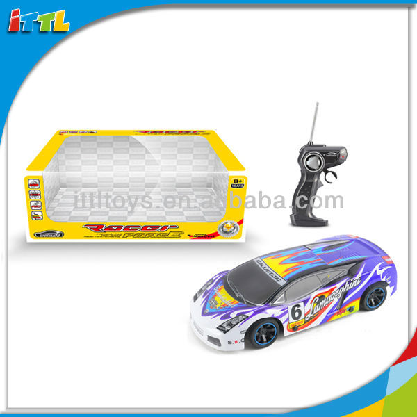 A467419 4 Channel Remote Control Model Car 1 18 Scale RC Car
