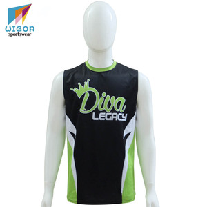 OEM Service High Quality Sublimation Printing Custom Softball Singlet