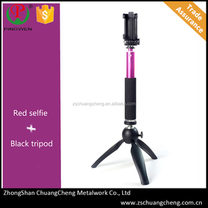 Extendable quality pocket tripod mount,cheapest durable tripod as personal photographer