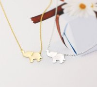 New Design Stainless Steel Elephant Necklace, Elephant Jewelry