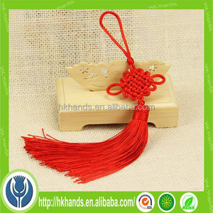 decorative handcrafts red Chinese knot