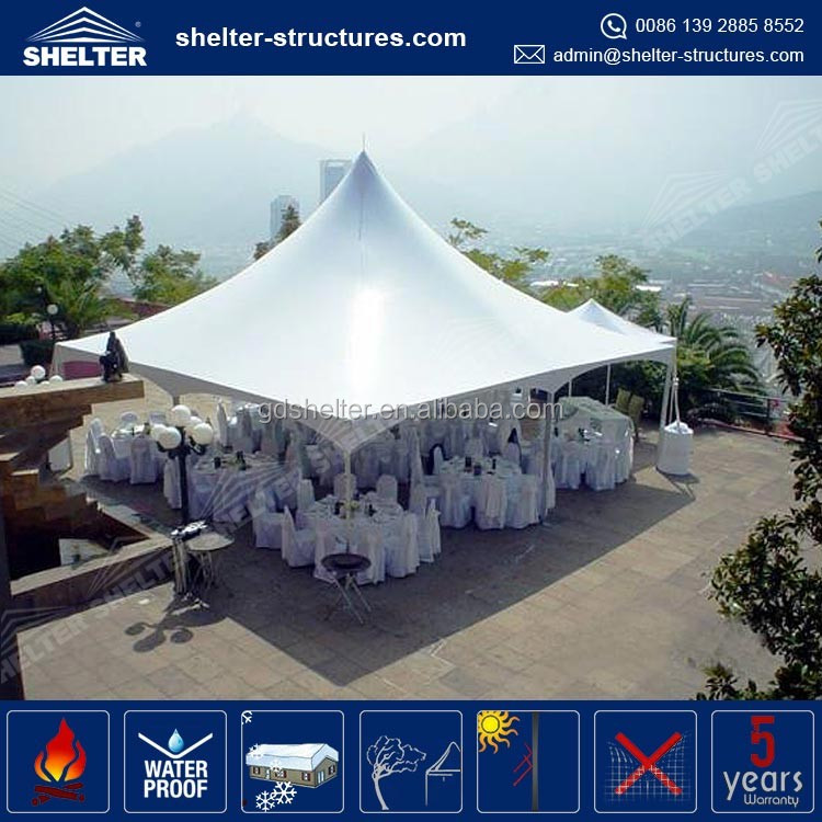 Lastest design rain proof gazebo red bull tent PVC fabric coated sales tent 3x6