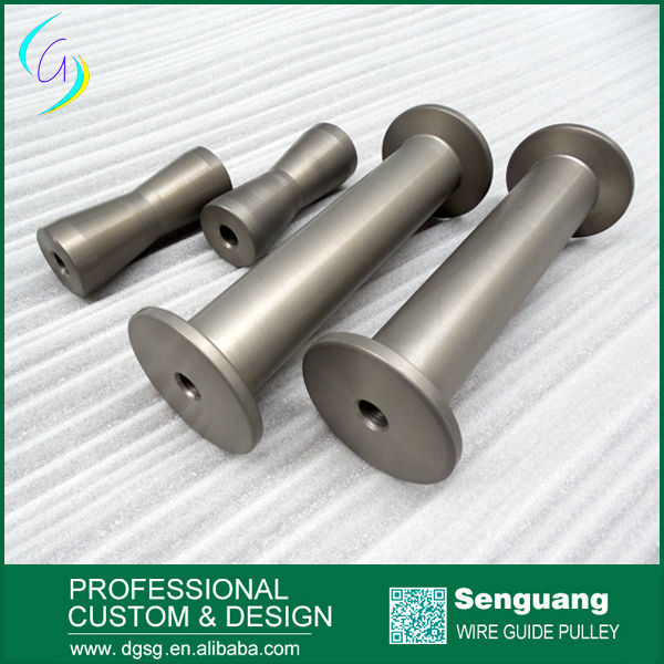 Small Hard Anodized Steel Cable Roller. - Buy Roller,Cable Roller ...