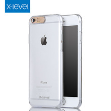 X-Level Call Flash Anti-Scratch Imported PC Eco-material Transparent Ultra Thin Mobile Case For Iphone 6 6S