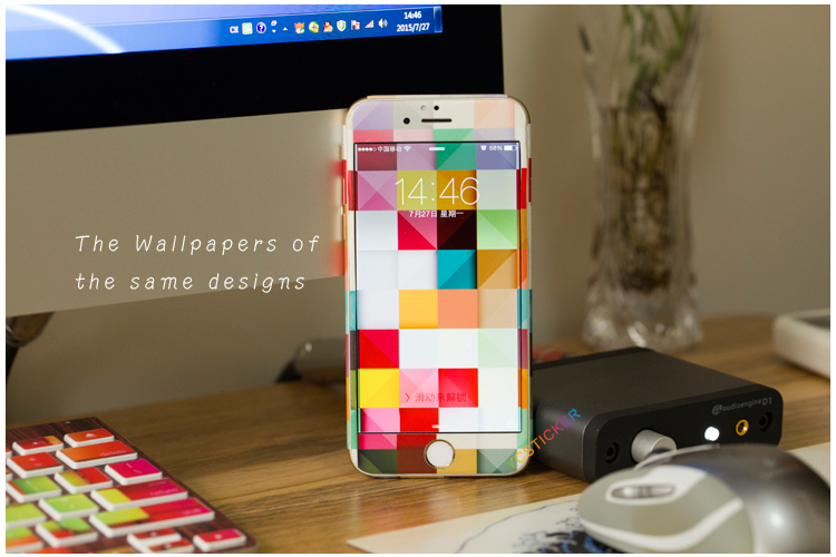 Wholesale Mobile Phone Accessories 3 M Full Body Phone Decal Sticker for iPhone Skin 6 7 Plus