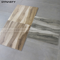 Factory Price wooden effect glazed 600x600 color Ceramic wood look porcelain floor tile