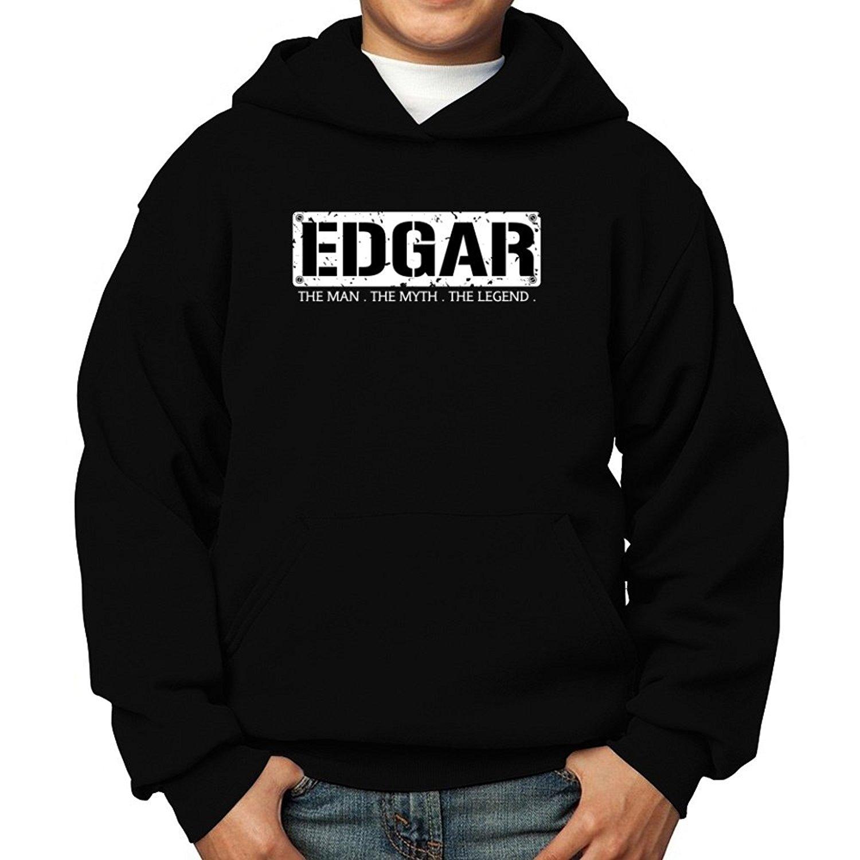 Teeburon Edgar The Man The Myth The Legend Boy Hoodie