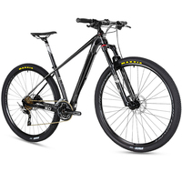 cheap 29er carbon fiber mountain bike 30 speed 15.5inch 17inch 19inch with full carbon frame