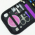 Portable Cloth DarK Purple Sewing Kit Sewing Scissors Kit with Zipper Bag