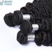 Best Selling Cheap Human Hair Extension Deep Wave 1B Free Shipping 20inch 4Bundles Wholesale Brazilian Hair