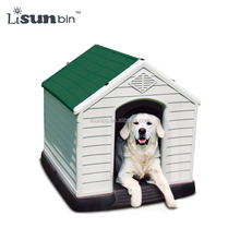 New Outdoor Pet House Detachable Cleaning Plastic Large Dog House
