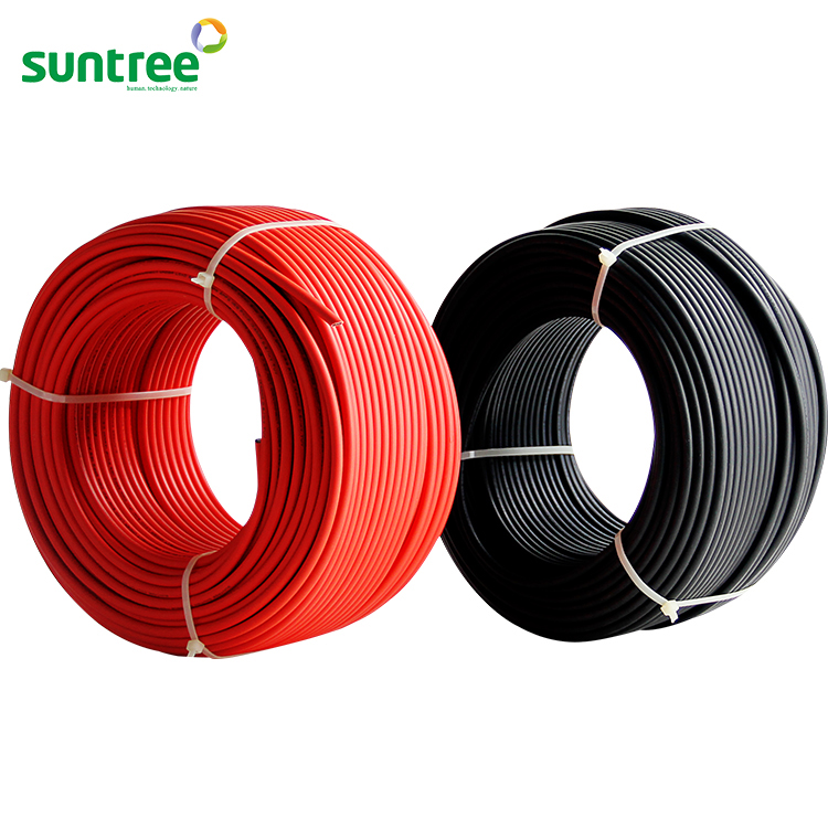 Suntree 10mm2 PV Wire Cable for Solar PV System Approved UL ,TUV