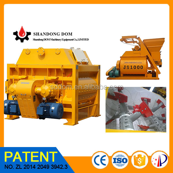 electric portable concrete mixer,small powder mixer,twin shaft mixer beton mixer batching plant for sale