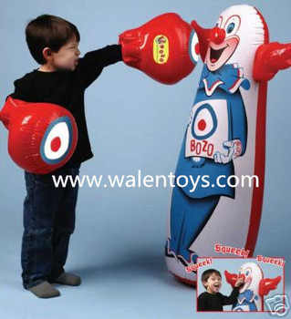 Inflatable Tumbler Punching Bag For Children