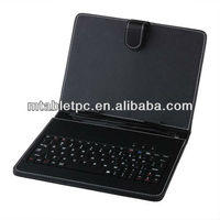 10 inch Tablet case with mic usb port Keyboard Leather Case with mic usb port in good price