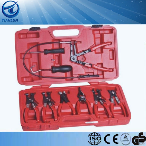9pcs car repair hose clamp pliers set
