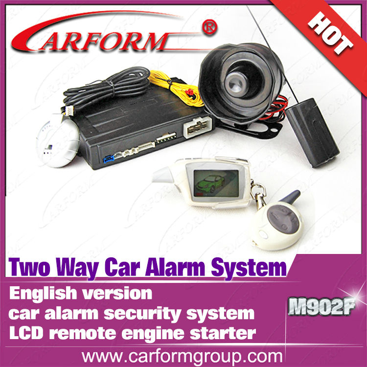Two Way Car Alarm System Magicar M902f English Version Lcd Remote ...