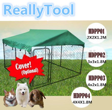 3X3X1.8M dog kennel animal cages large metal dog house pet cages wholesale