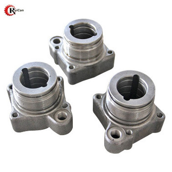 OEM customized stainless steel aluminum ductile iron casting parts with sand casting process and machining