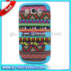 Hot sale Triangle Pattern plastic case for samsung galaxy s4 i9500