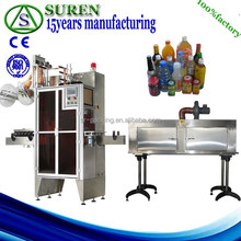 pvc shrink film label sleeve machine