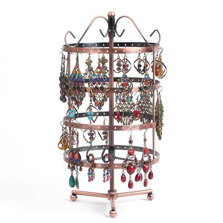 Iron Material Earring Jewelry Display Holder Rack Factory