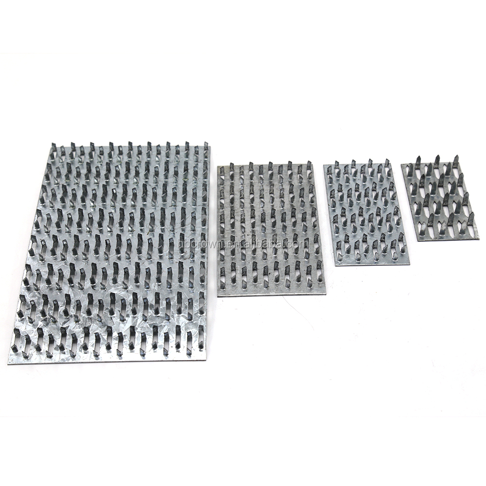 Angle Nail Plate Galvanised Timber Jointing 75x75x75mm
