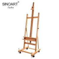 OEM Wholesale High Quality Wooden Artist Studio Easel For Sale