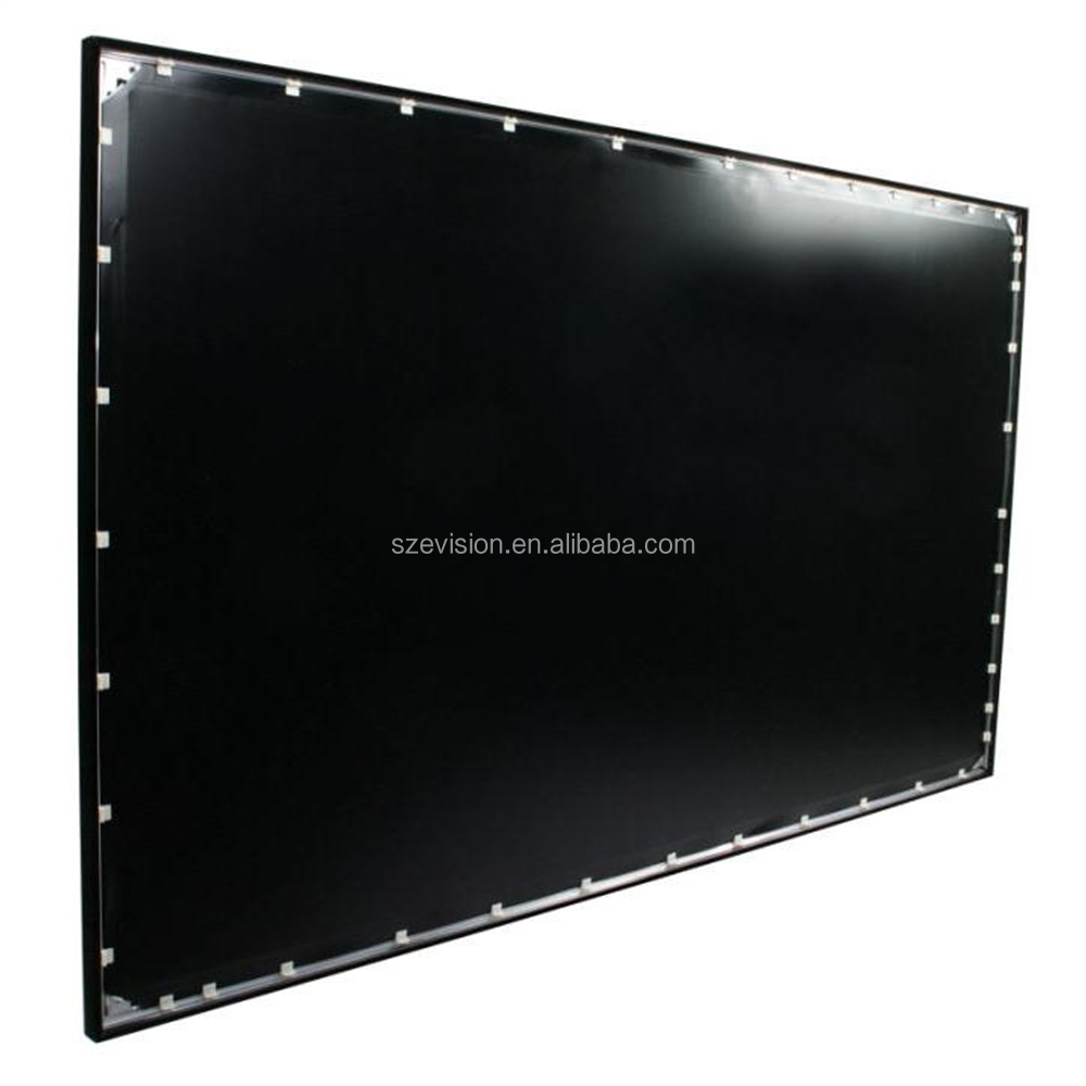 "92"",100"",110"",120"",150"",200""...Fixed Frame 3D Projector Screen with Rear Projection"