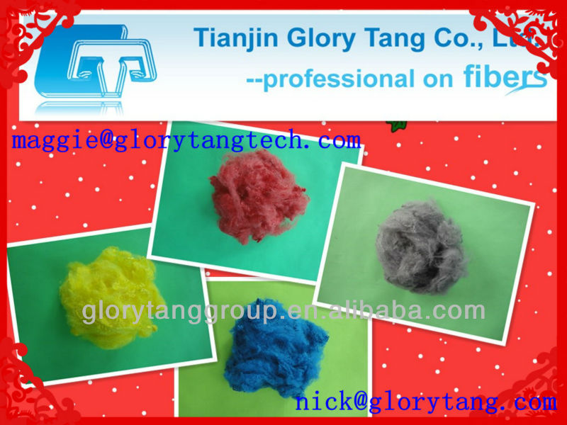 colored fiber for auto nonwoven, solution dyed colored fiber