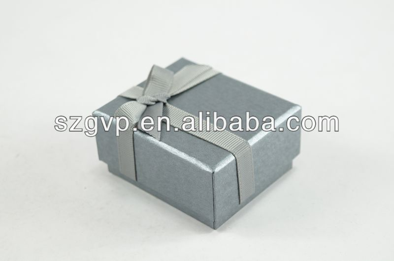custom logo wholesale ballerina paper cardboard jewelry gift box with ribbon